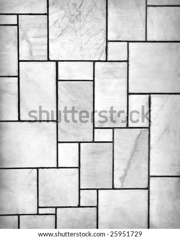 modern marble wall - stock photo