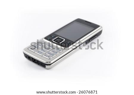Modern mobile plone - stock photo
