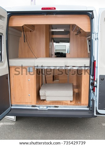 Modern Motorhome Interior Elegant Materials And Finishing Motorcoaching Theme
