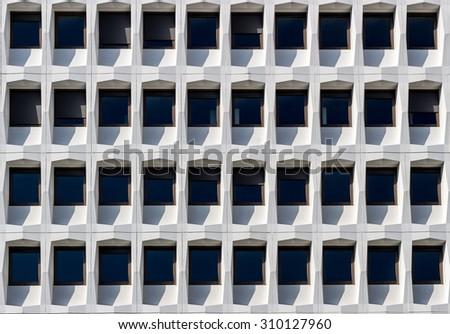 Modern Office Building Facade - stock photo