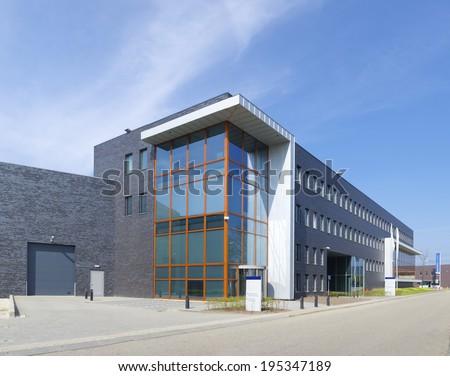 Modern office building utrecht netherlands stock photo - Exterior building design pictures ...
