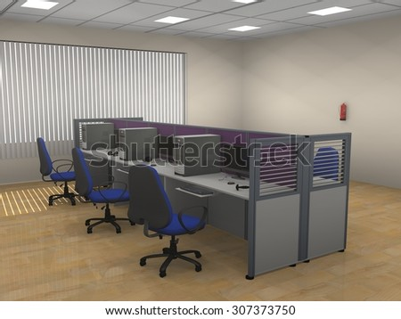 perfect office cubicles stock images u vectors with modern office cubicle design