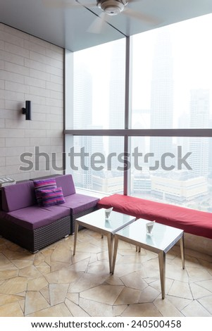 modern office lobby room  - stock photo
