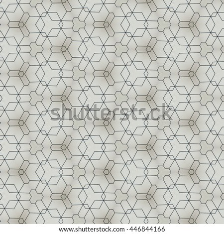 Modern Pattern Design For Fabric Or Interior Wallpaper
