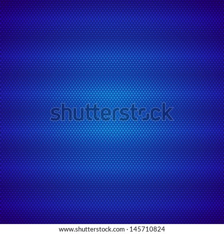 Modern pattern of blue color - stock photo