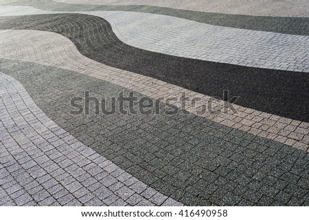 Modern pavement texture. Abstract textured background. - stock photo
