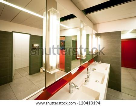 Modern Public Restroom In London