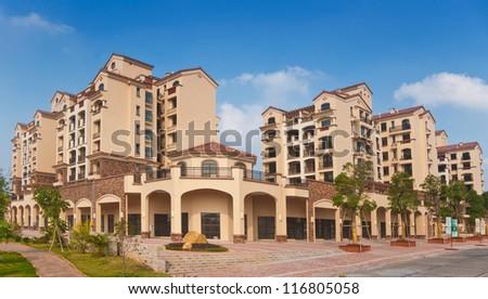 Modern residential - stock photo