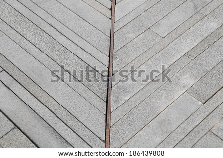 Modern Rock Floor Texture made of thin rocks