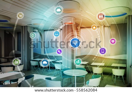 Smart House Technology Stock Images RoyaltyFree Images Vectors
