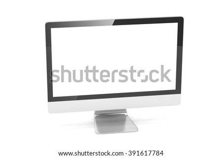 Modern Screen Monitor - stock photo
