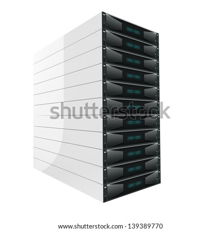 Modern Server isolated