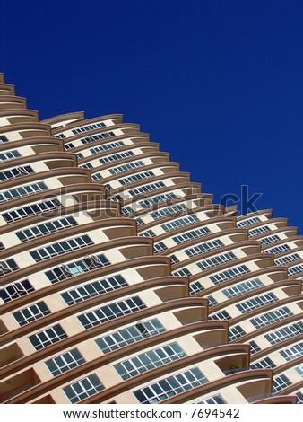 Modern skyscraper architecture - stock photo
