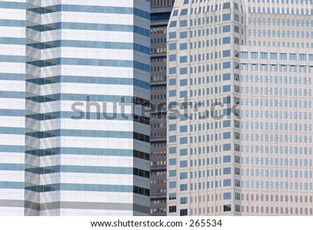 Modern skyscrapers. - stock photo
