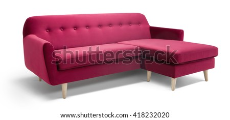 Modern Sofa - stock photo