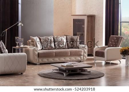 living room modern sofas modern sofa luxury living room stock photo 521705188 shutterstock