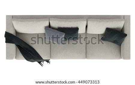 Bedroom Design With Couch