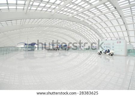 Modern Space - stock photo
