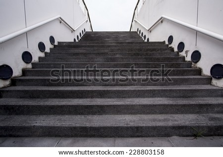 Modern Stair - stock photo