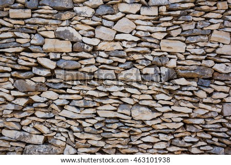 Modern style design decorative real stone wall surface with cement
