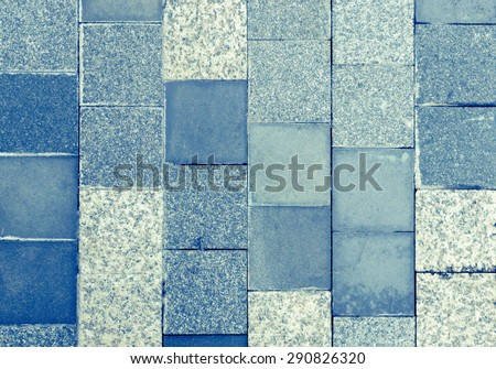 Modern style design of light blue marble tile texture wall of floor wall pattern decorate /Light blue marble tiles texture/ Light blue marble tiles texture (modern, texture, marble) - stock photo