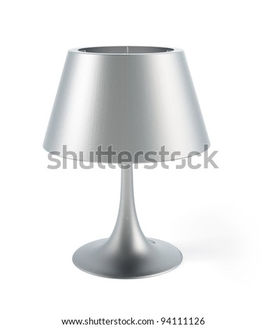 modern table lamps india lamp shades stock photo isolated model mid century