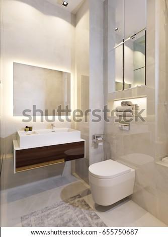 bathroom beige modern tiles stock images royalty free images vectors shutterstock. Black Bedroom Furniture Sets. Home Design Ideas