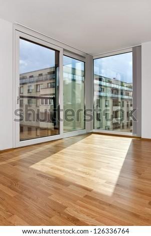 modern urban living - stock photo