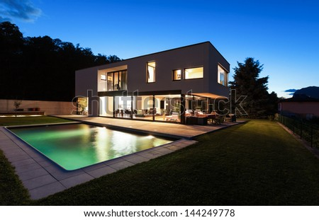 Modern House Exterior Stock Images RoyaltyFree ImagesVectors