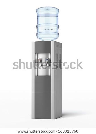 modern water cooler - stock photo