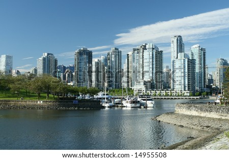 Modern Waterfront City