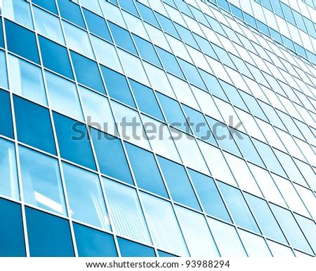 modern windows - stock photo