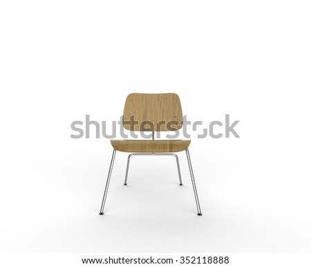 modern wooden chair front view. Modern Wooden Chair Front View R