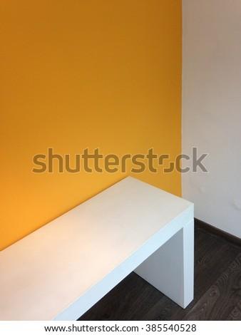 Modern work space - stock photo