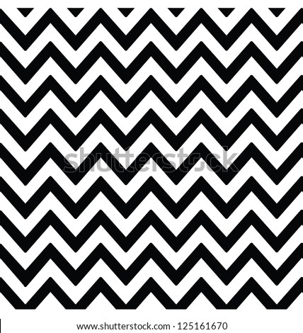 MODERN ZIG ZAG PATTERN. Editable vector illustration file. - stock photo
