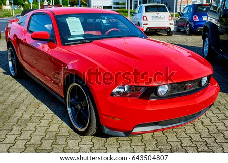 mustang car stock images royalty free images vectors. Black Bedroom Furniture Sets. Home Design Ideas