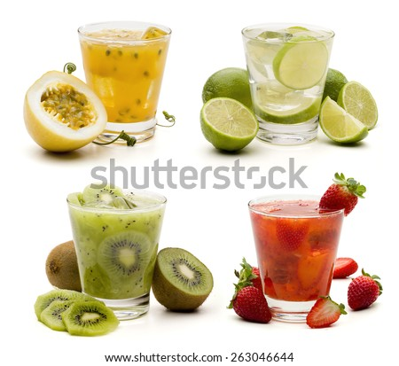 Mojitos cocktail, delicious summer drink - stock photo
