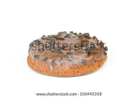 moldy donut - stock photo