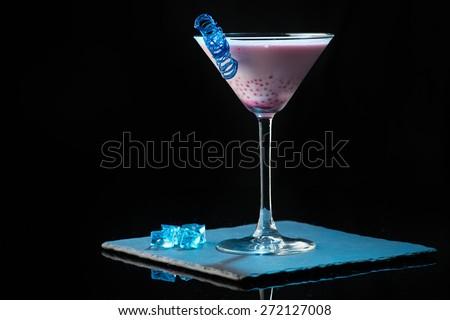 molecular cocktail - stock photo