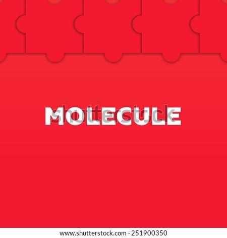MOLECULE - stock photo