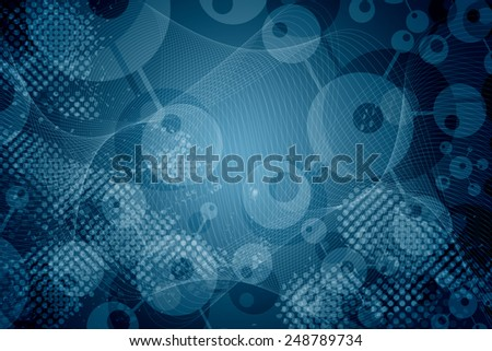molicule background - stock photo