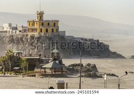 Mollendo, Peru - Castillo Forga - stock photo