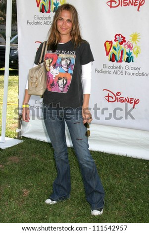 "Molly Sims at ""A Time For Heroes"" Benefit Sponsored by Disney for the Elizabeth Glaser Pediatric AIDS Foundation. Wadsworth Theatre, Westwood, CA. 06-10-07"