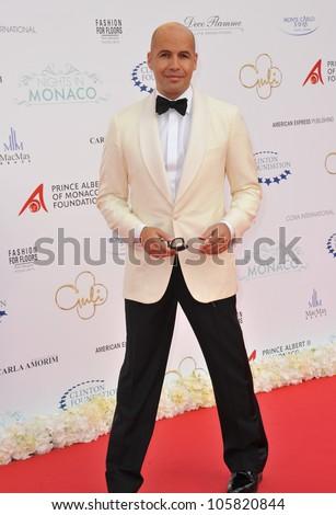 MONACO - MAY 23, 2012: Billy Zane  at the inaugural Nights in Monaco Gala at the Hotel de Paris, Monte Carlo. May 23, 2012  Monaco - stock photo