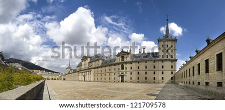 Monastero de El Escorial - stock photo