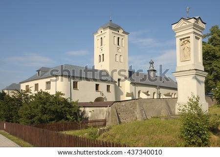 Monastery in Swieta Katarzyna, Poland. - stock photo