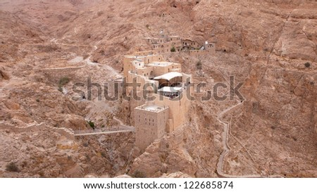 Monastery of Mar Musa. Syria