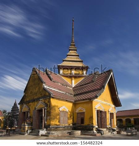 mondop at Prasat Nakhon Luang - stock photo