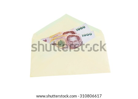 money and envelope