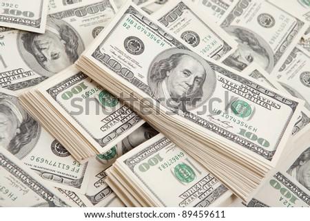 money background - stock photo